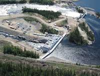 Hydro-Québec, centrale de la Chute-Allard