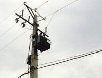 Entreprise Nationale d'électricité de Guinée (ÉNELGUI), Conakry<br/>réseau à bas voltage